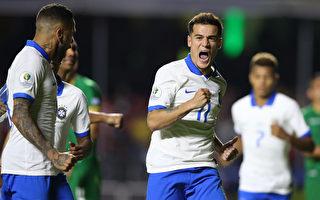 美洲盃:東道主巴西旗開得勝 阿根廷輸球