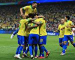 美洲杯:巴西大胜秘鲁晋级
