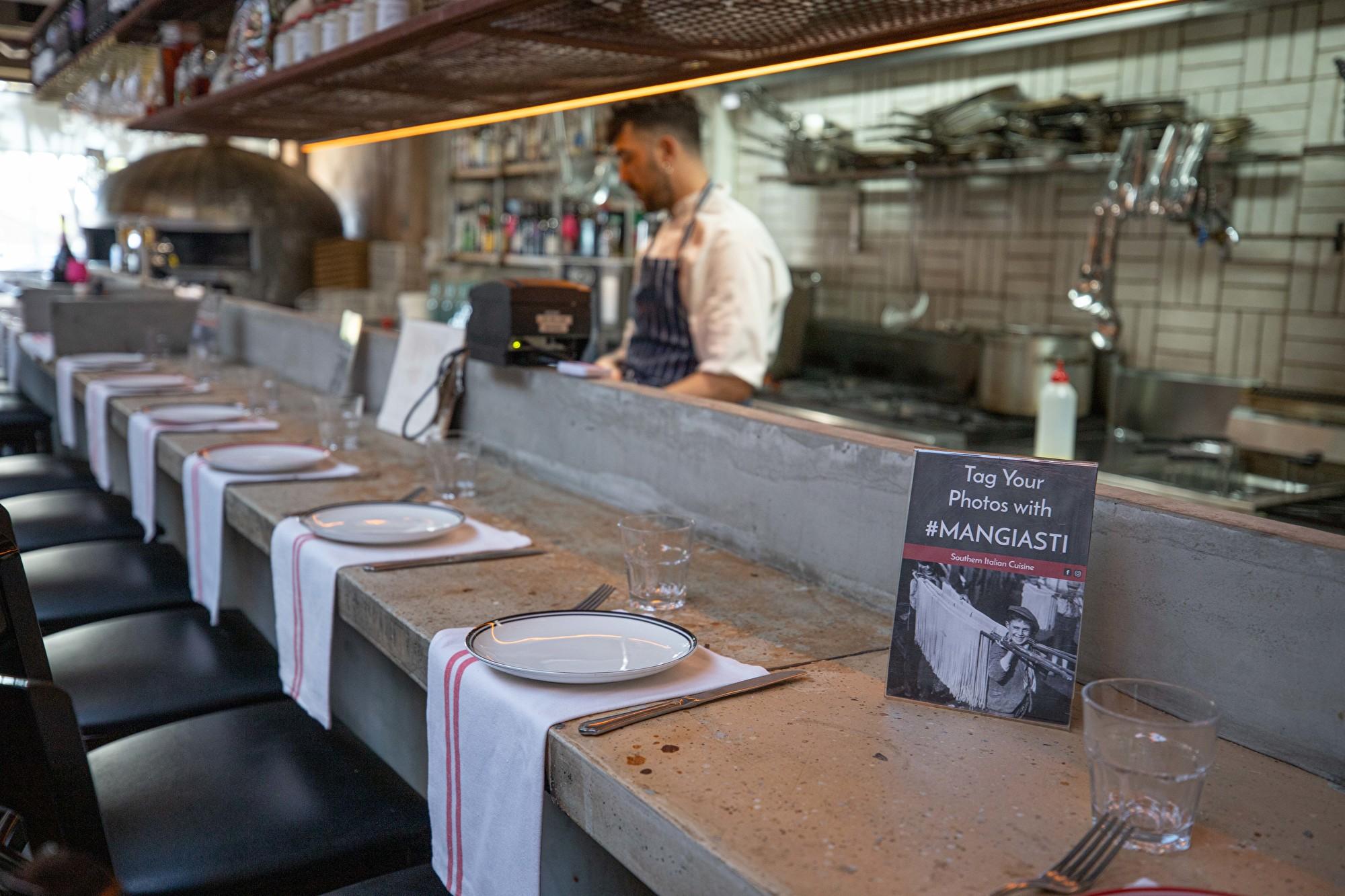 悉尼意大利餐廳Mangiasti