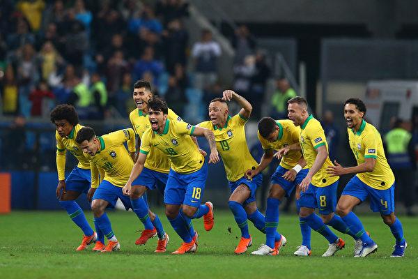 美洲盃四強產生 巴西阿根廷將上演巔峰對決
