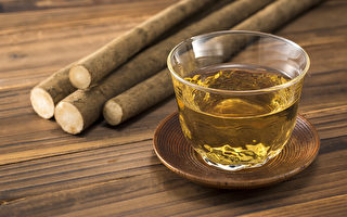 牛蒡有「東洋人參」之稱,喝牛蒡茶有助於抗老、減重。(Shutterstock)