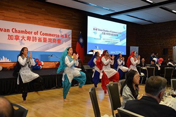 圖:卑詩台灣商會舉辦「邁向世界 台商之夜」,政要嘉賓冠蓋云集,共襄盛舉。