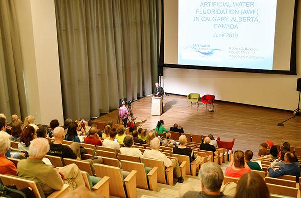 氟化水:卡爾加里的健康風險及展望》研討會