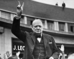 Undated picture of Sir Winston Churchill making the victory sign. (Photo credit should read OFF/AFP/Getty Images)