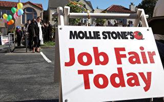 美国就业机会创两年新高 提振劳动力市场