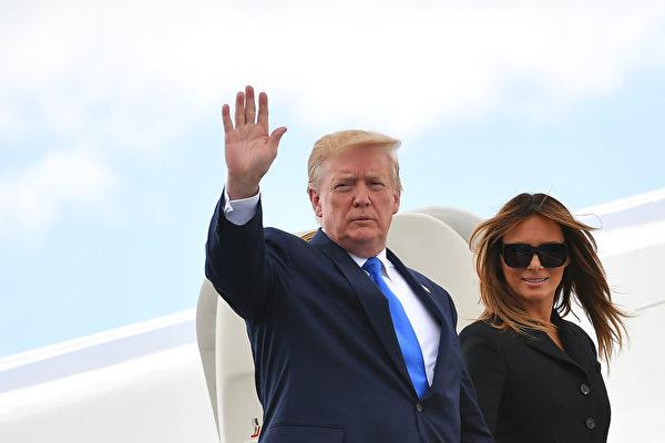 美国总统川普(特朗普)6月7日表示,美国和墨西哥很有可能就移民问题达成协议,解除对墨西哥进口产品征收新关税。(Mandel Ngan/AFP/Getty Images)