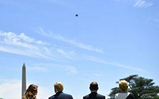 令F-35战机飞越华盛顿 川普释何信息