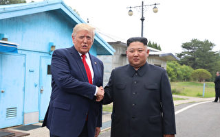 一条推特震惊世界 川普踏上朝鲜20步