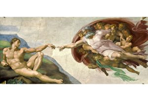 米開朗基羅《創造亞當》與內在之國