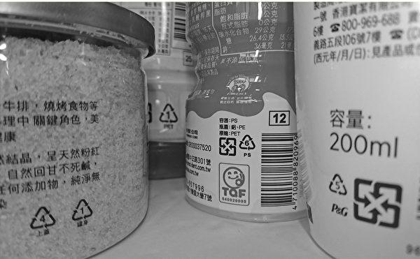 塑胶产品分类编码分为7大类,也就是目前国际通用的回收辨识码。(商周出版提供)