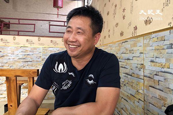 中国维权律师谢阳近照。(大纪元)