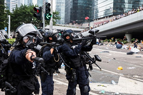 張林:香港人不屈不撓堅持抗爭