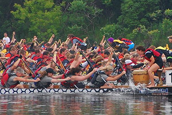北美最大的龍舟競賽渥太华落幕