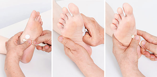 按摩十二指腸反射區,幫助減重。(商周出版提供)