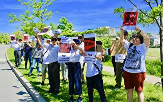 反引渡恶法 加拿大民众首都集会支持港人