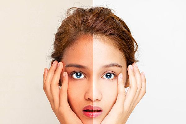 一份1460人的分析報告顯示,有34%的人存在面部不對稱問題。(Shutterstock)