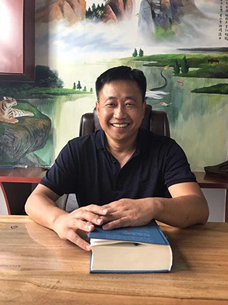 中国维权律师谢阳摄于2018年。(谢阳提供)