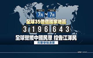 法办元凶 全球320万人举报江泽民反人类罪