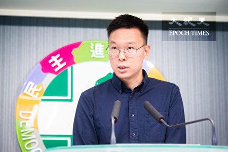 太陽花學運領袖林飛帆15日就任民進黨副秘書長,他表示,將防止親共勢力取得執政地位,打贏2020年選戰。