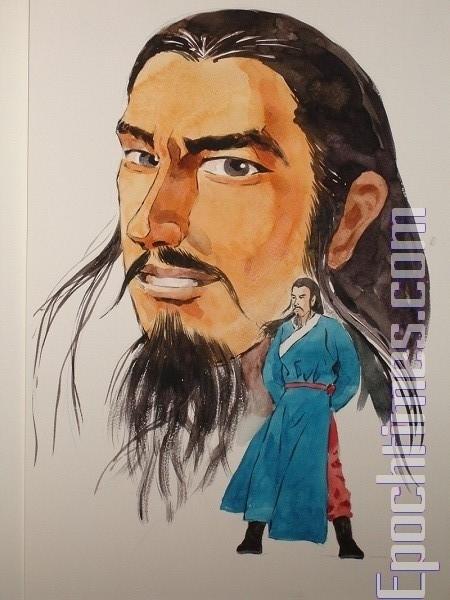 伊尹(繪圖:志清/大紀元)