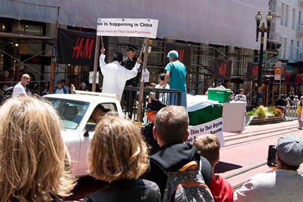舊金山720反迫害遊行