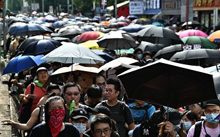 欧媒报导元朗游行 称中共面临严重挑战