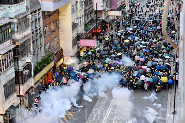 程晓容:中共官媒恐吓香港民众 历史将审判谁