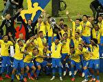 東道主巴西擊敗秘魯 12年後再奪美洲盃冠軍