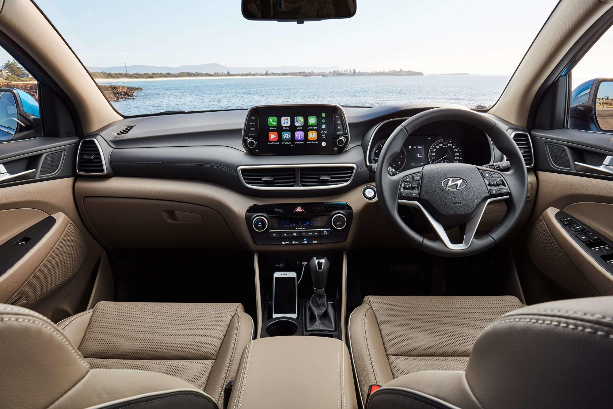 现代第三代城市SUV车型——Hyundai Tucson