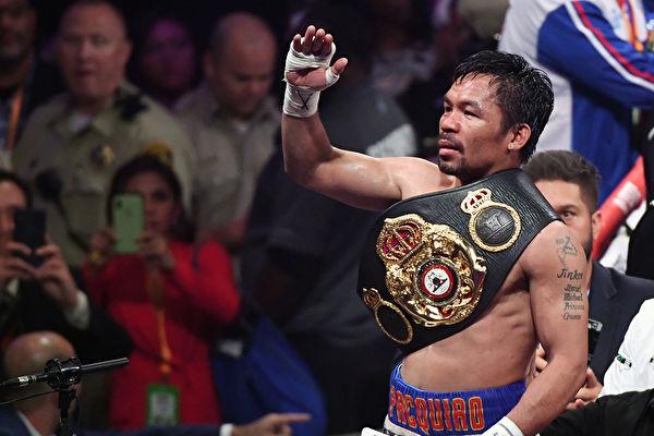 40岁菲律宾拳王帕奎奥成WBA次中量级霸主