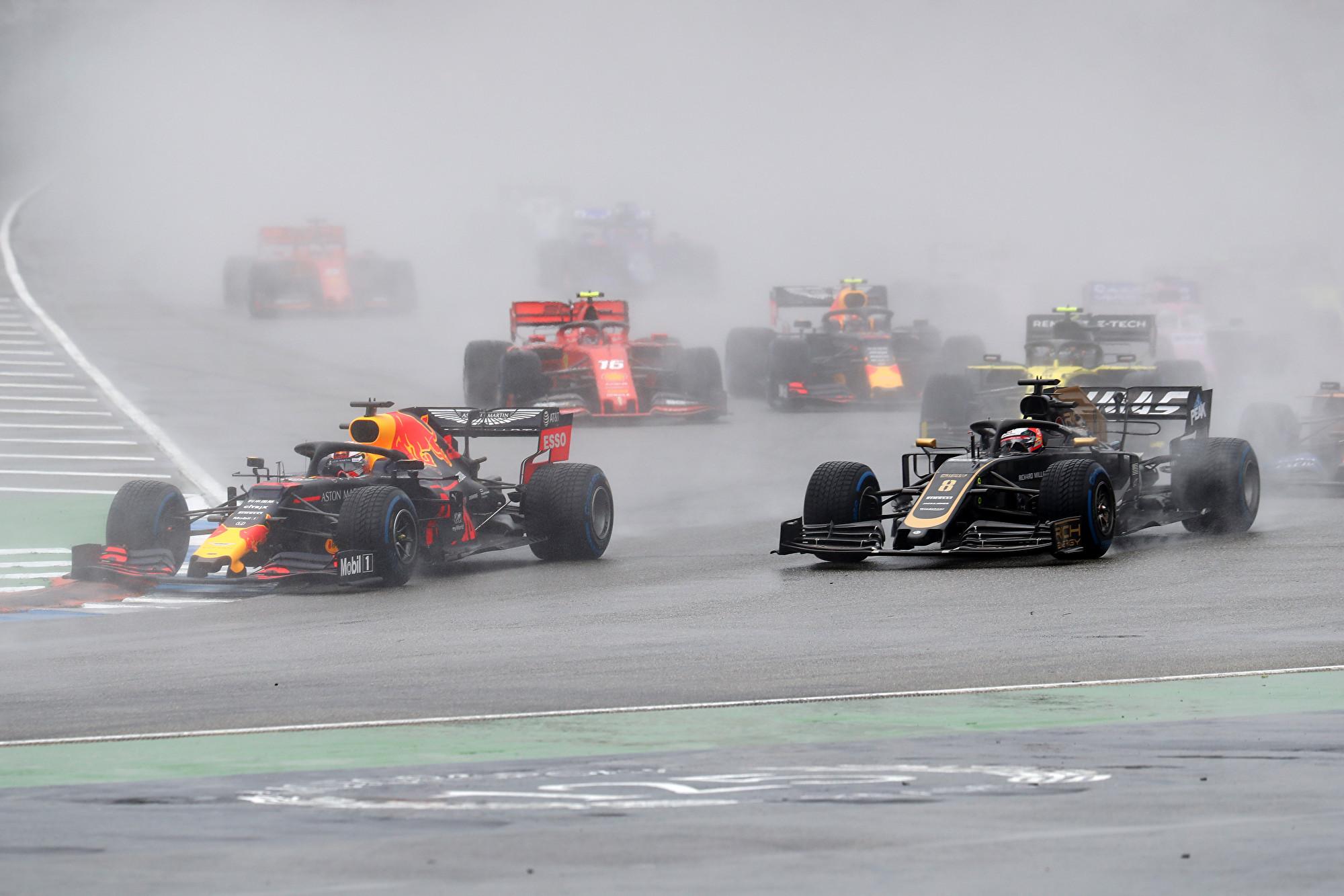 F1德国站 维斯塔潘登顶