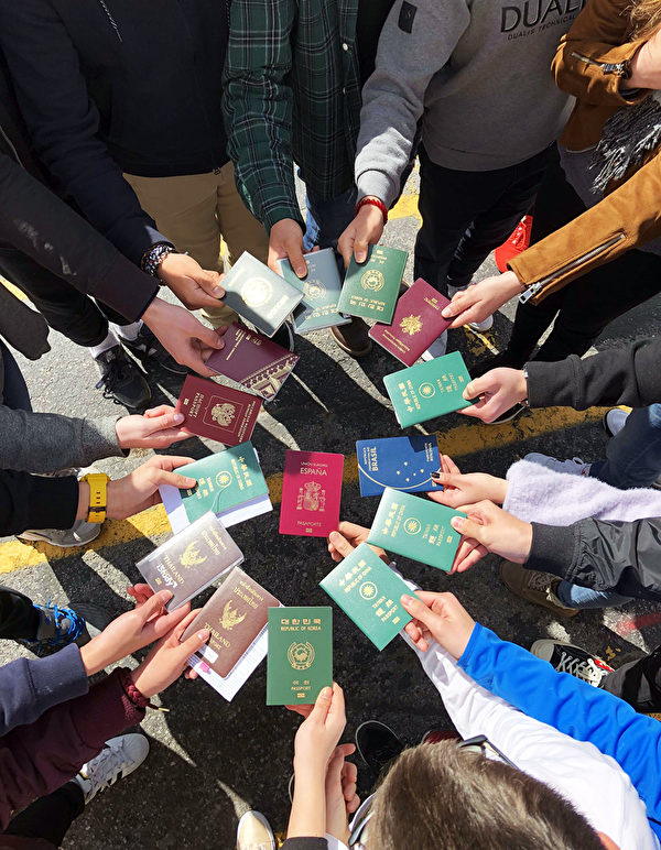 天下留學中心-每年有來自不同國家的學生參與國際高中交換學生計畫