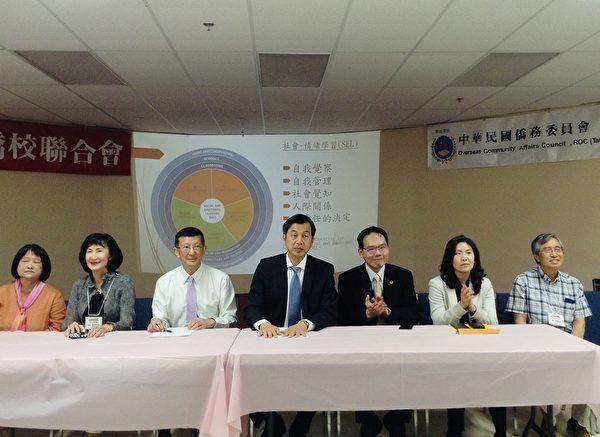 图:2019年加西华文教师研习会开幕,14中文学校的上百名教师参加。
