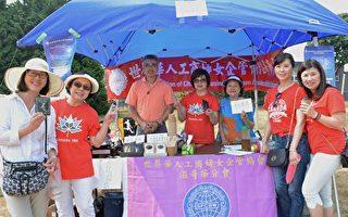 圖:往年臺灣園遊會的場景。(大紀元圖片)