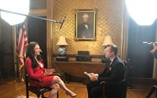 英文大纪元专访白宫美国创新办公室首席官