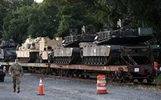 川普拟在独立日展军威 首次展出新型坦克
