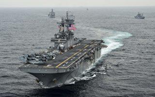 【快讯】川普:美突击舰击毁伊朗无人机