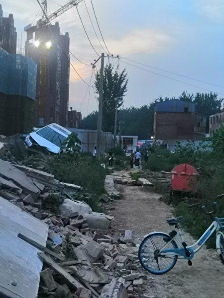 河南村民開車撞死強拆官員幕後真相