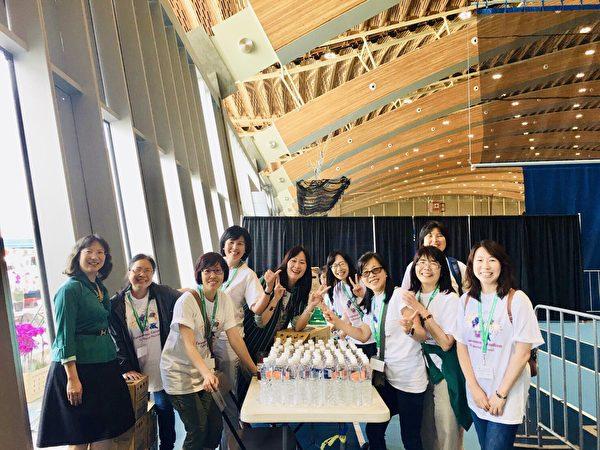 图:台湾北一女高中学生今年的加拿大之旅,表演风采获得赞誉。(北一女提供)
