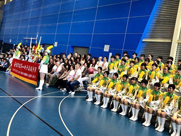 圖:台灣北一女高中學生今年的加拿大之旅,表演風采獲得贊譽。(北一女提供)