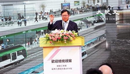 桃园市长郑文灿希望推动双边合作,让北桃园生活圈更紧密结合。