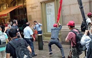 民运人士欢迎蔡英文 遭暴力攻击 吁美追查