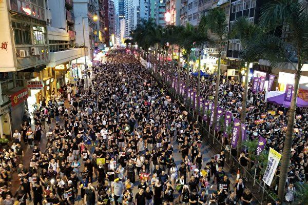 惠虎宇:香港抗议行动的新现象和新局面