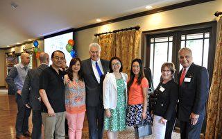 約翰溪(Johns Creek)商會年會  兩華人企業家入選董事