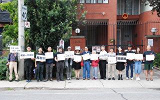 多伦多华人集会撑香港 反暴力镇压