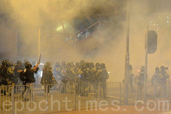 港西环集会变快闪行动 多家警署前抗议