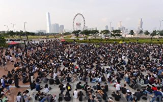 組圖:8.22香港中學生集會反送中
