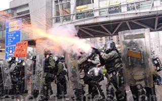 【更新中】荃葵青遊行 警出動裝甲車水炮車
