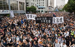 香港年輕抗議者:必須直接向中共發出信息