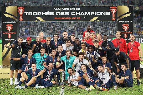 法国超级杯:巴黎圣日耳曼胜雷恩夺七连冠